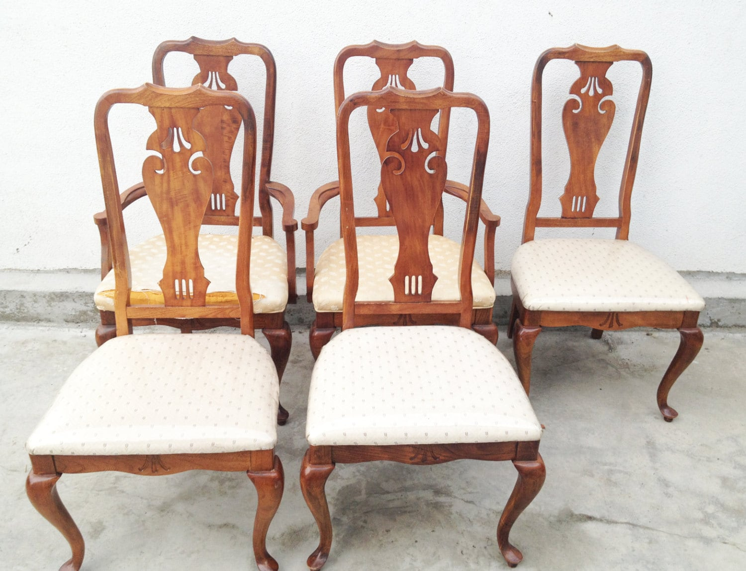 Il for Dining room chairs queen anne
