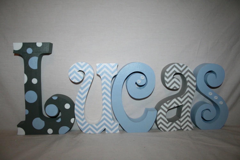 Wooden Letters Nursery Letters Wooden Letters For Nursery 5