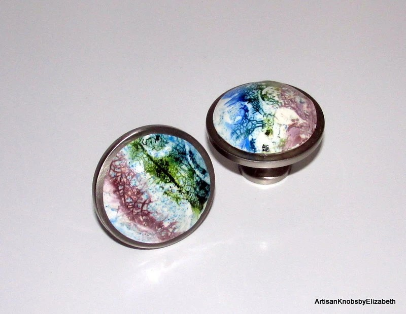 Cabinet/Drawer/Dresser Knobs/Pulls, Polymer Clay Knobs