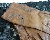 Vintage Brown Faux Leathe...