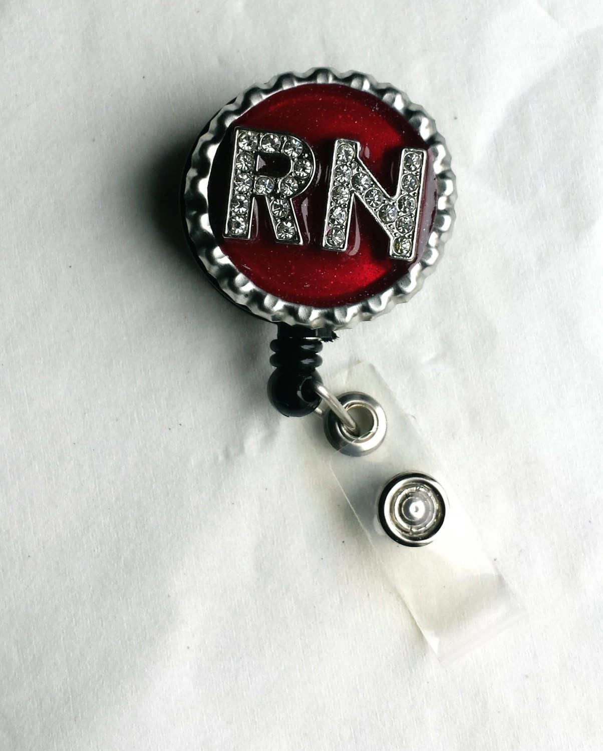 Rn Personalized Name Badge Holders