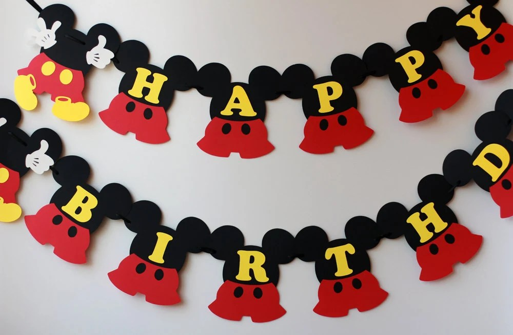 Printable Birthday Mini Banner