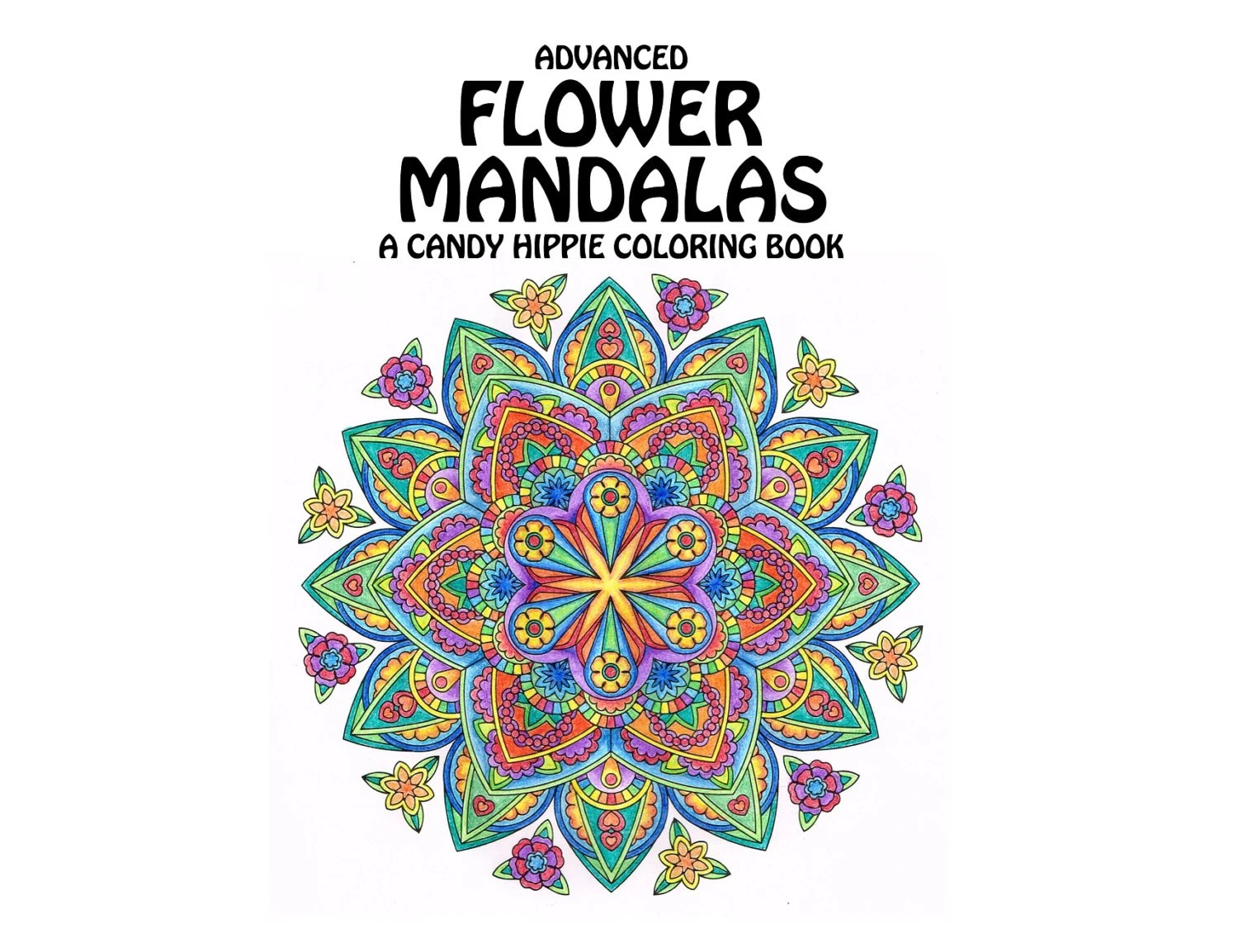 christmas mandalas coloring book printable adult by candyhippie