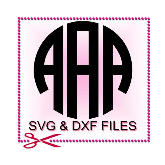 Download SVG Fonts Alphabet Monogram Silhouette Files for by SVGFILE