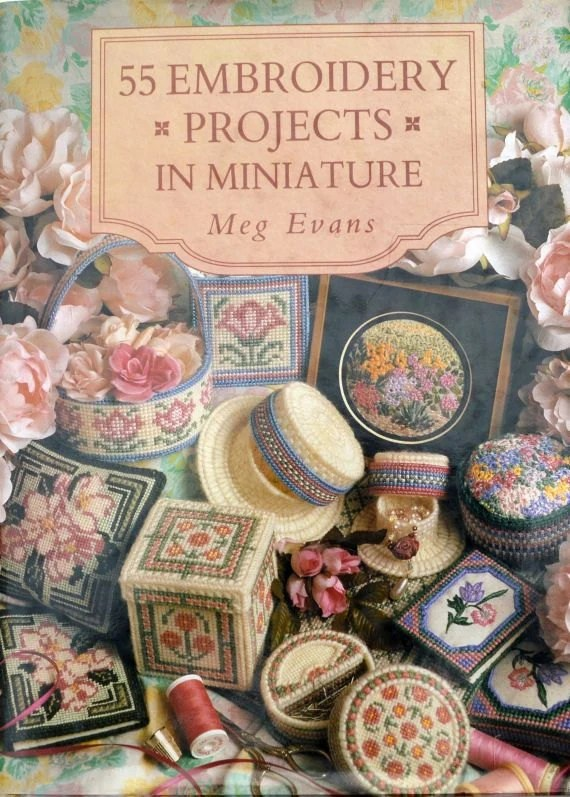 Embroidery projects in miniature meg evans cross