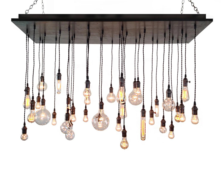 Industrial Chandelier Rustic Lighting Modern Chandelier