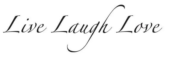Download Live Laugh Love Decal/SVG Set
