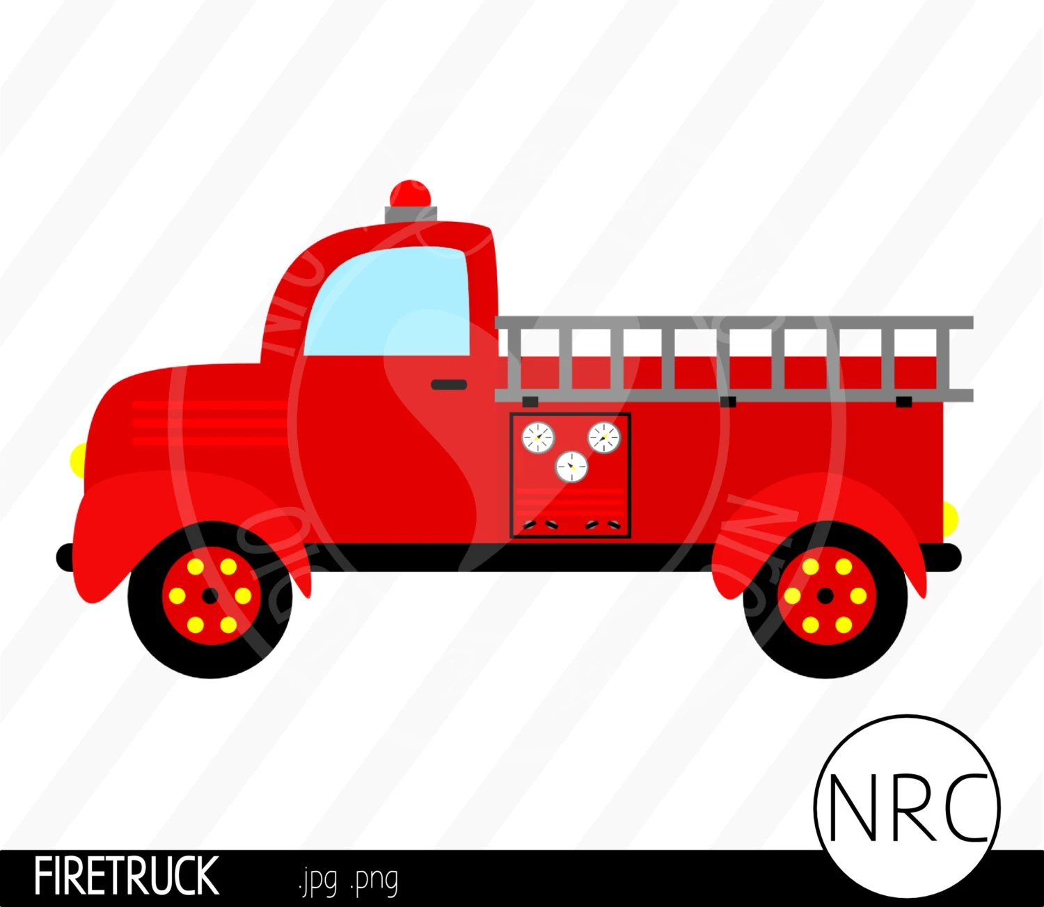 Cij Sale Firetruck Clip Art Firefighter By Nrcdesignstudio