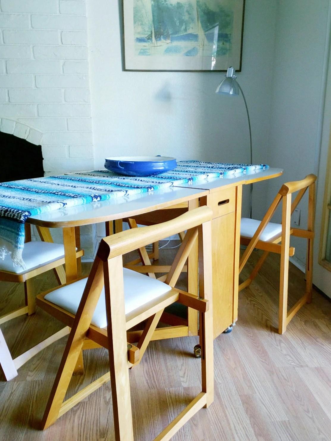 Vintage MCM Danish Drop Leaf Table Four Self Storing  : ilfullxfull767036951j8qt from hautejuice.wordpress.com size 1113 x 1480 jpeg 285kB