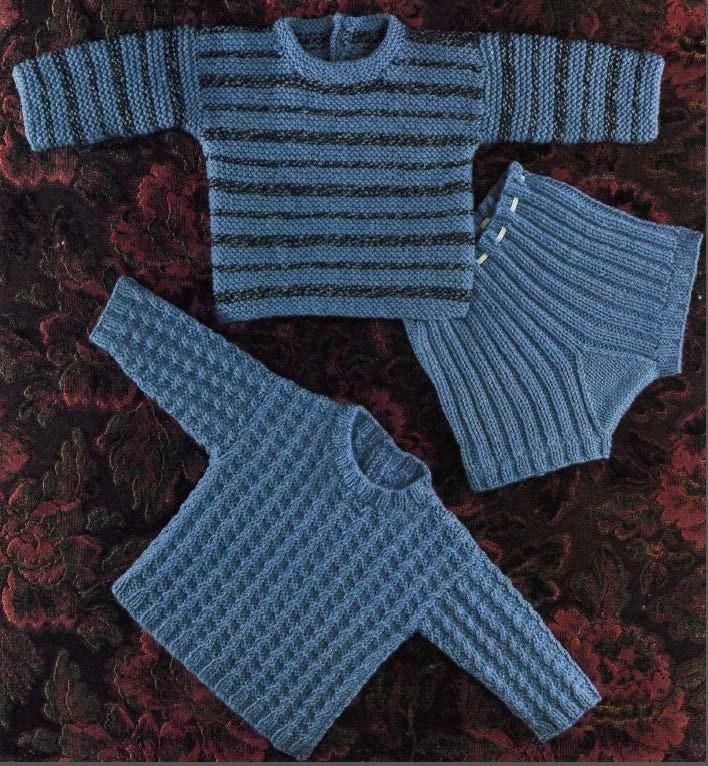 Knicker Baby Crochet Pattern