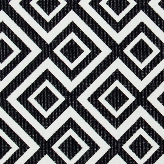 Decorative Outdoor Pillow Cover Modern Black White
