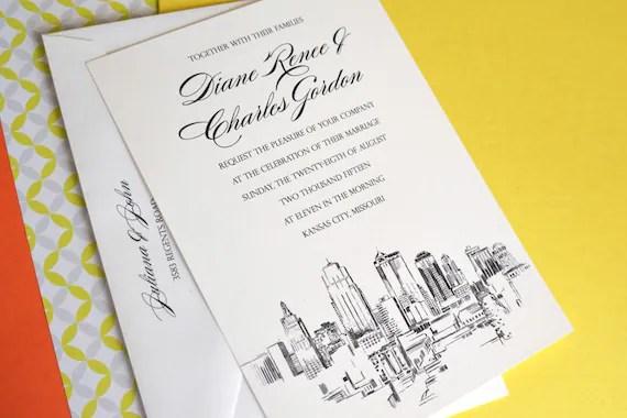 Custom Invitations Kansas City