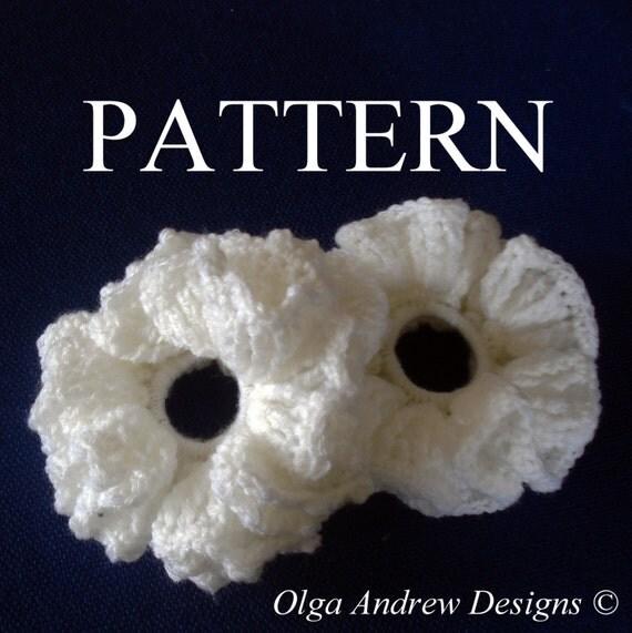 Scrunchie Crochet Pattern Scrunchie Crochet Accessories