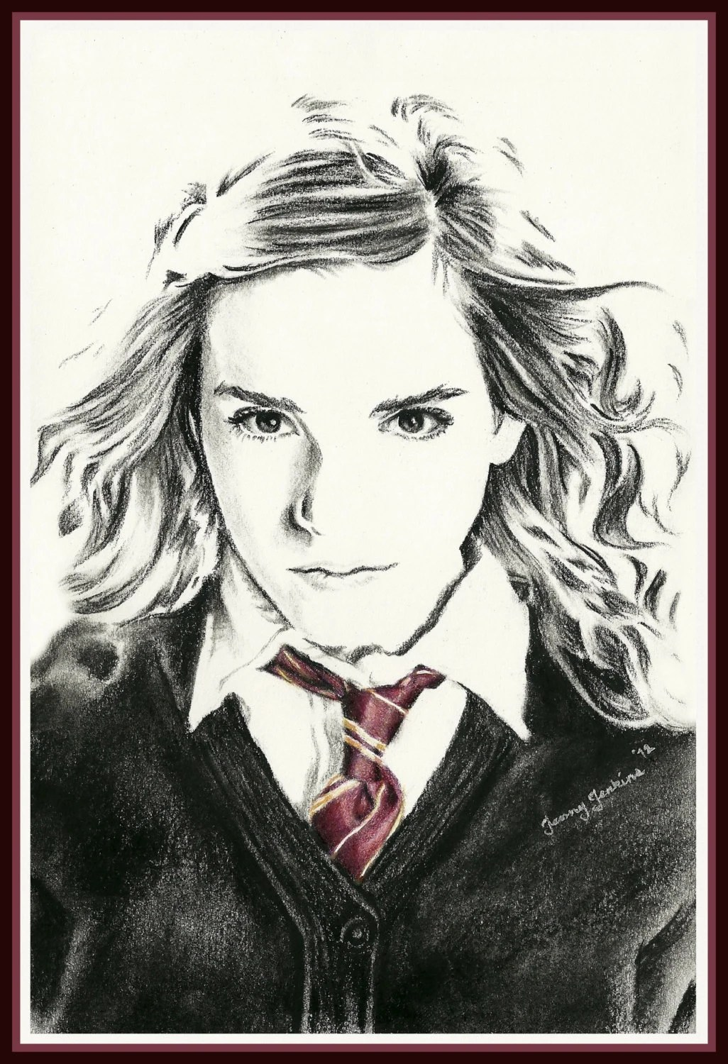 Harry Potter Character Drawings By Jennyannjenkins On Etsy
