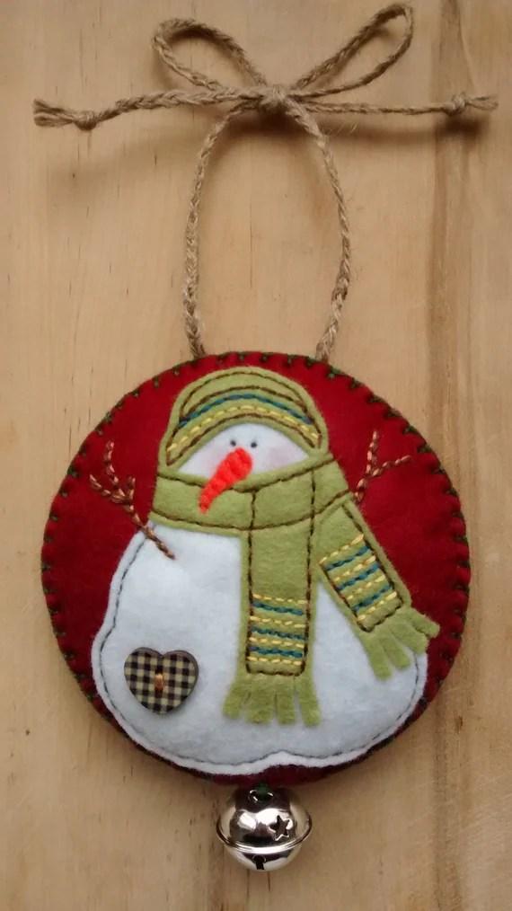 Felt Snowman ChristmasFestive Hanging Decorationtree