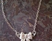 Bow Necklace Bow Pendant ...