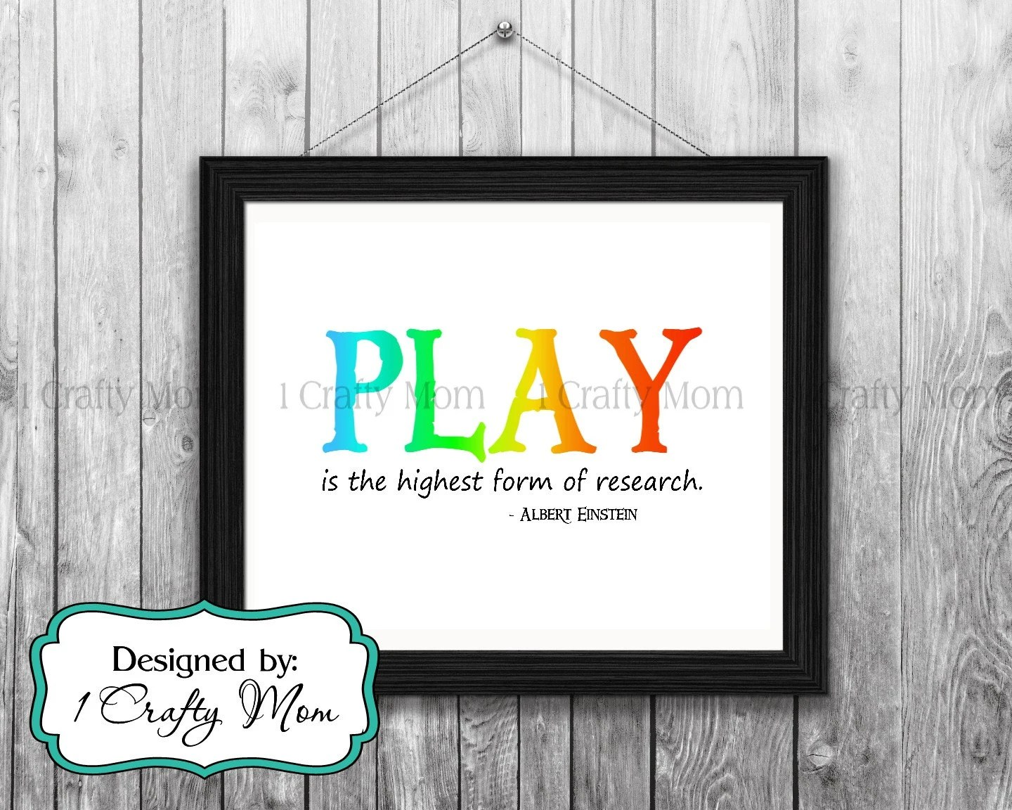 Play Highest Form Research Albert Einstein