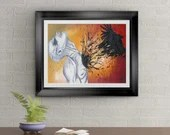 Seventh Day Signed Art Print By Rafi Perez