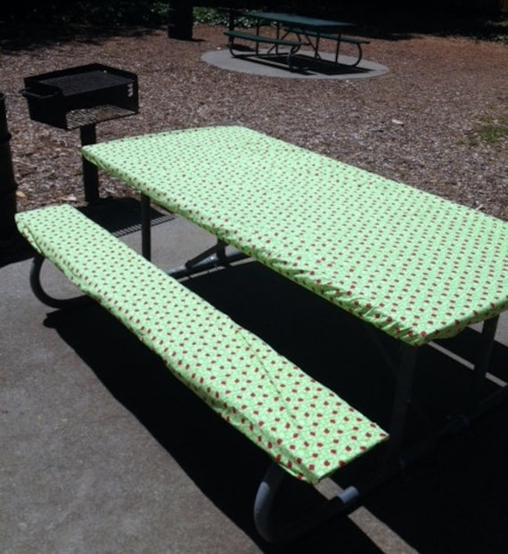 Custom Stay Put Fitted 10 Ft Picnic Or By Premiertablecovers