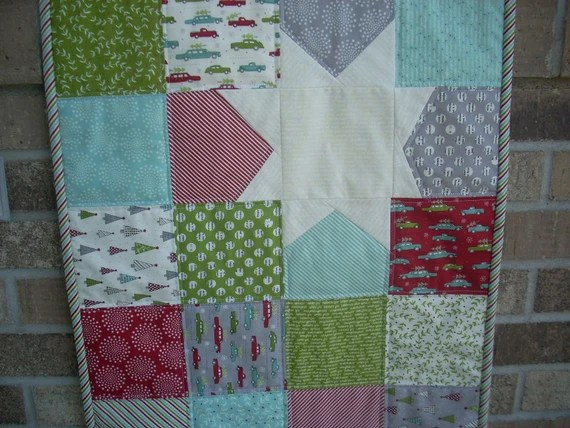 holly's tree farm tablerunner pattern sheet