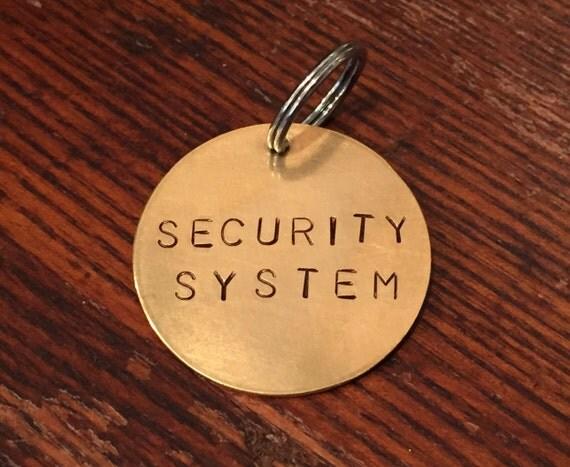 Security Alarm Tag