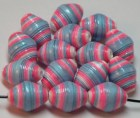 Paper beads- Paper bead jewelry- Recycled paper beads- Loose paper beads- Jewelry supplies- Beading supplies- Bicone paper beads- Beads