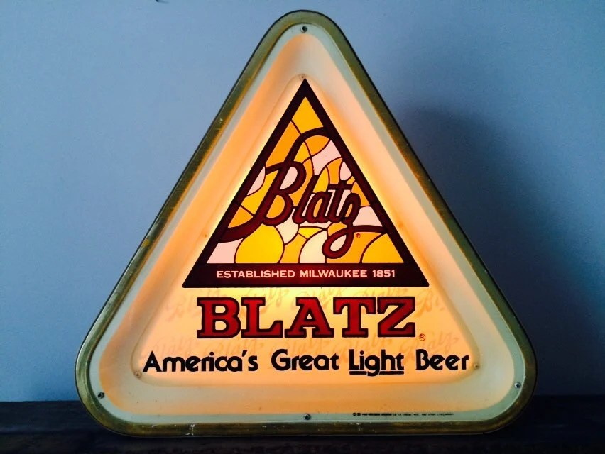 Blatz Beer Sign Lighted By 3vintage On Etsy