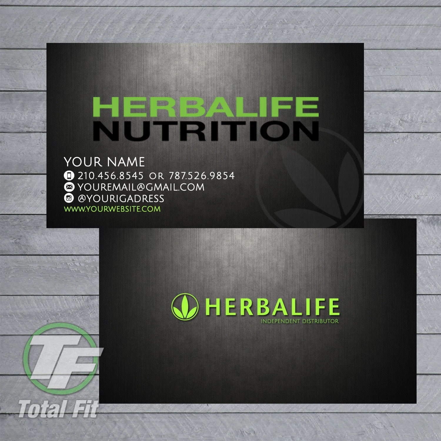 Herbalife Nutrition Business Cards Health And Traditional Medicine
