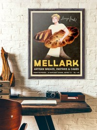 "Hunger Games Inspired - Peeta Mellark Bakery Vintage Poster (""Grand Reopening"")"
