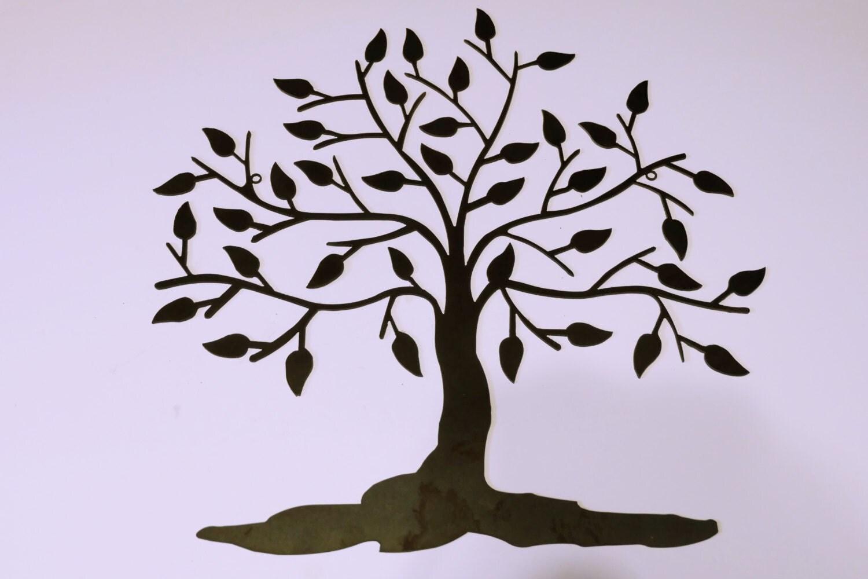 Tree Of Life Metal Wall Art Metal Wall Art Family By