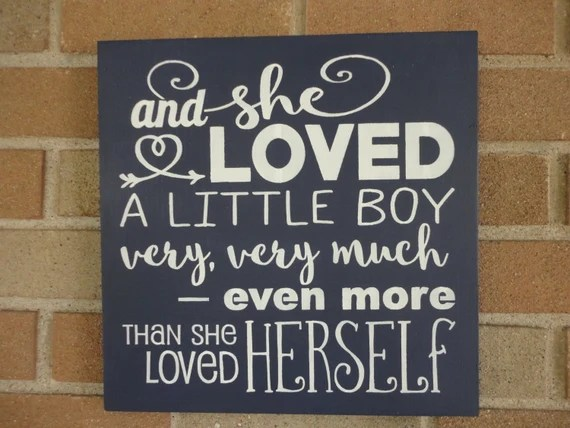 Download And She Loved A Little Boy Very Very Much Even More Than