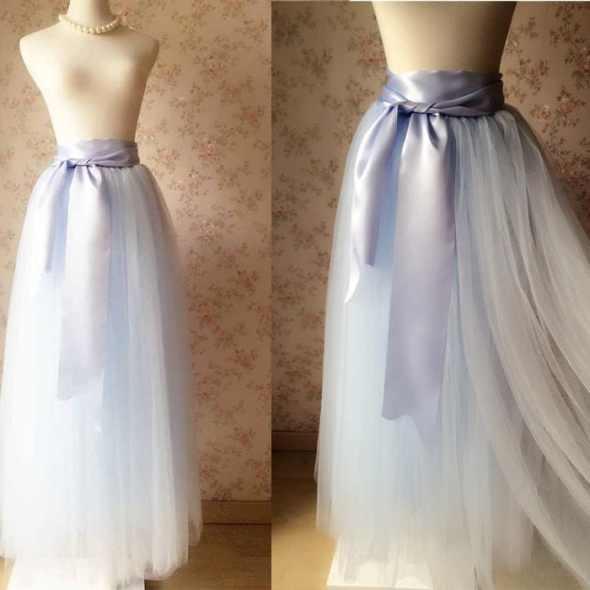 f20e6183fb Full Length Maxi Tulle Skirt – Adult Maxi Tulle Skirt – Maxi Wedding Tutus  – Frozen Tutus, Adult Tutus, Wedding tutu dress with long sash