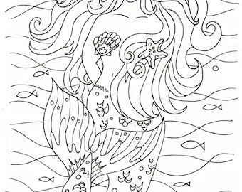 coloring pages beach boardwalk digital by colorcoastalart