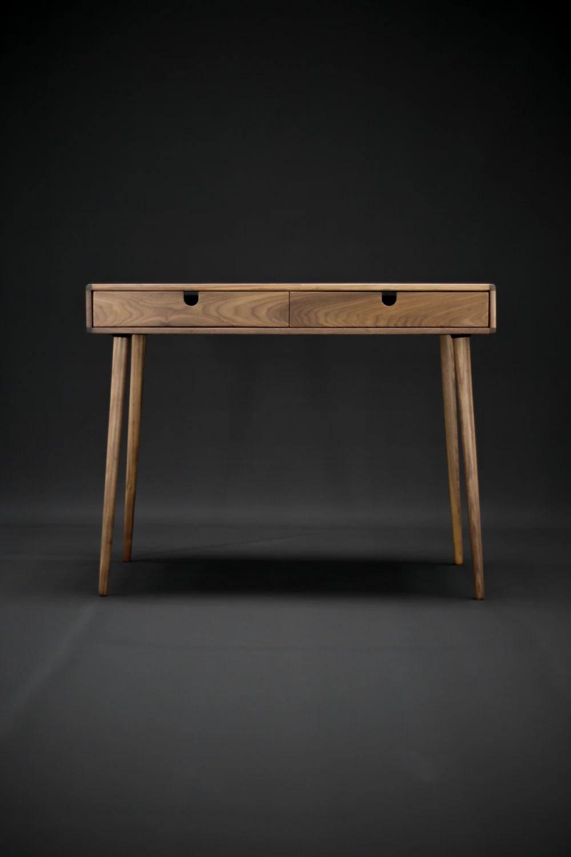 Solid Walnut Board Desk Bureau Dressing Table Office