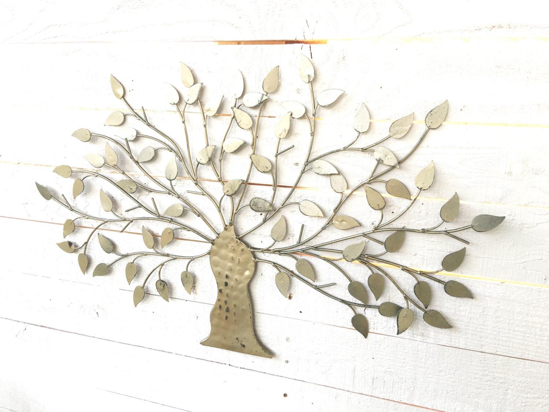 Iron Tree Wall Decor Tree Of Life Metal Wall Art Tree Wall