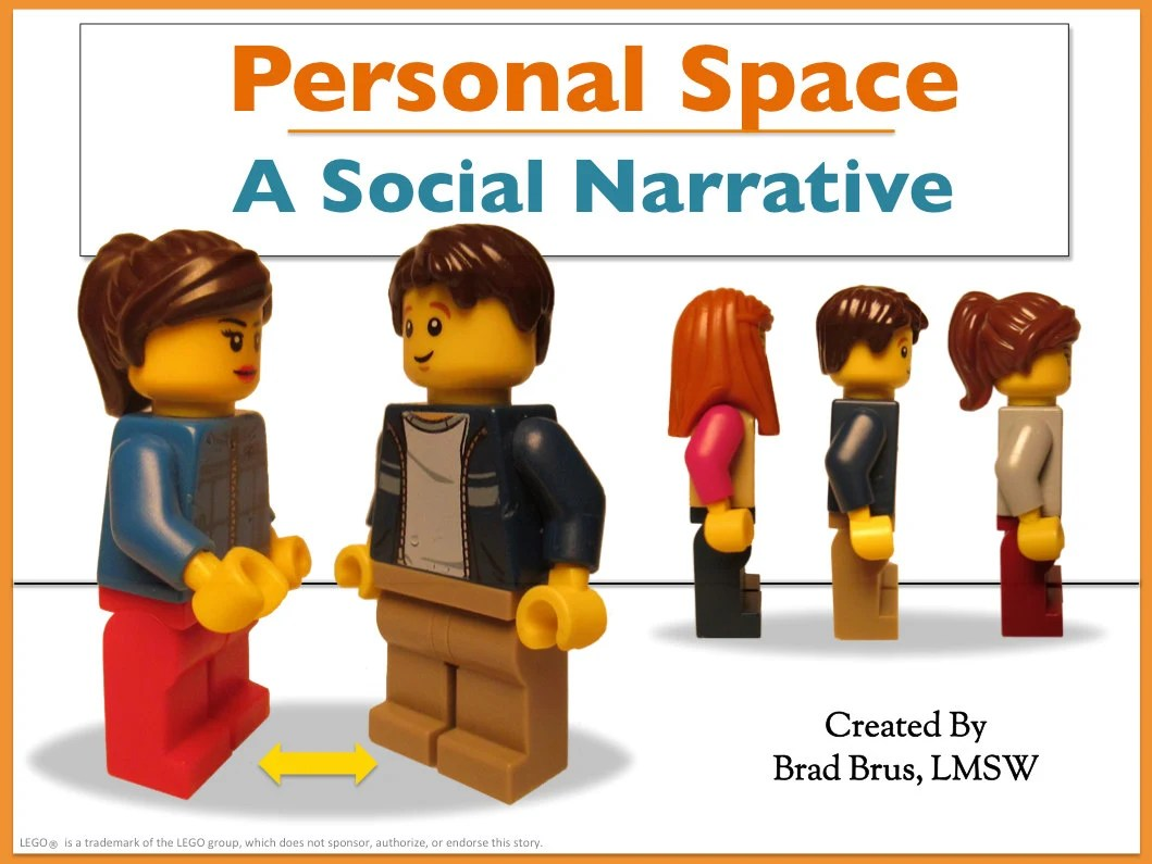 Personal Space Social Narrative Social Story Autism