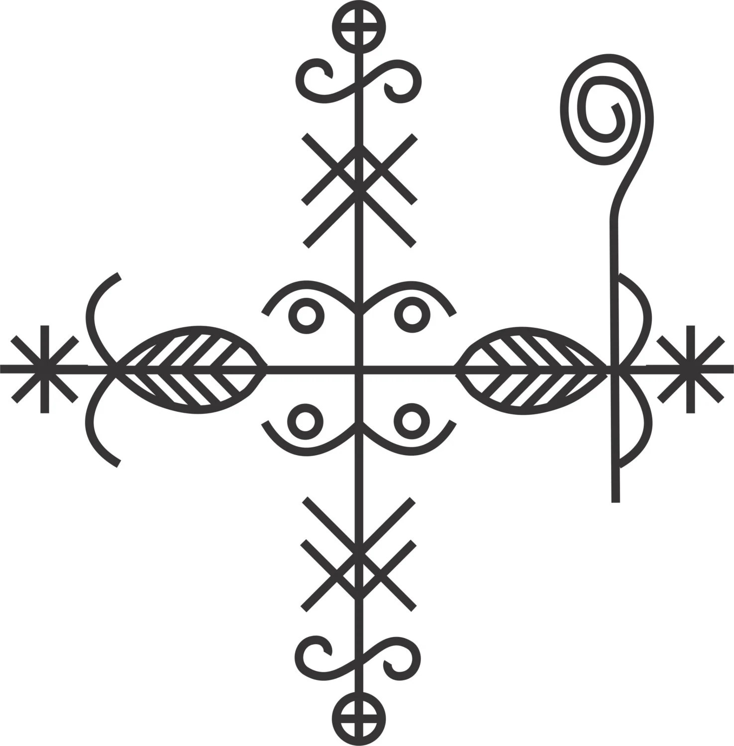 Voodoo Veve Protection Meaning