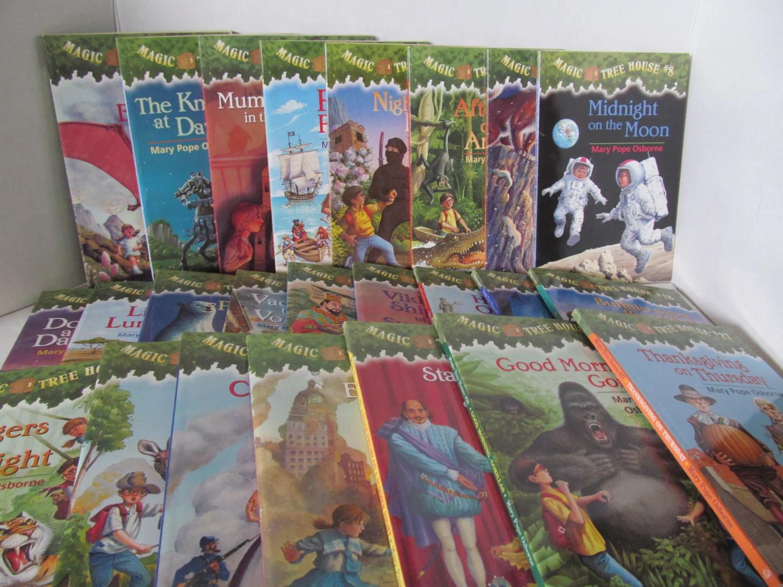 Magic Tree House Books Set Of 25 Books Mary Pope Osborne