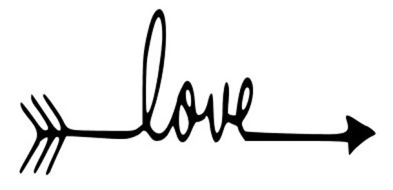 Download Love Arrow SVG file