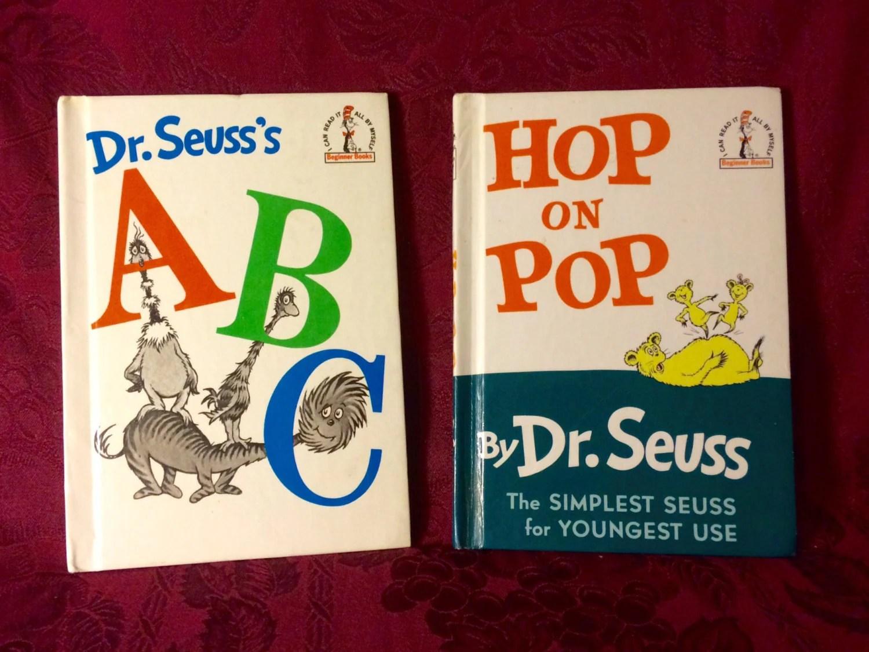 Dr Seuss S Abc And Hop On Pop Books