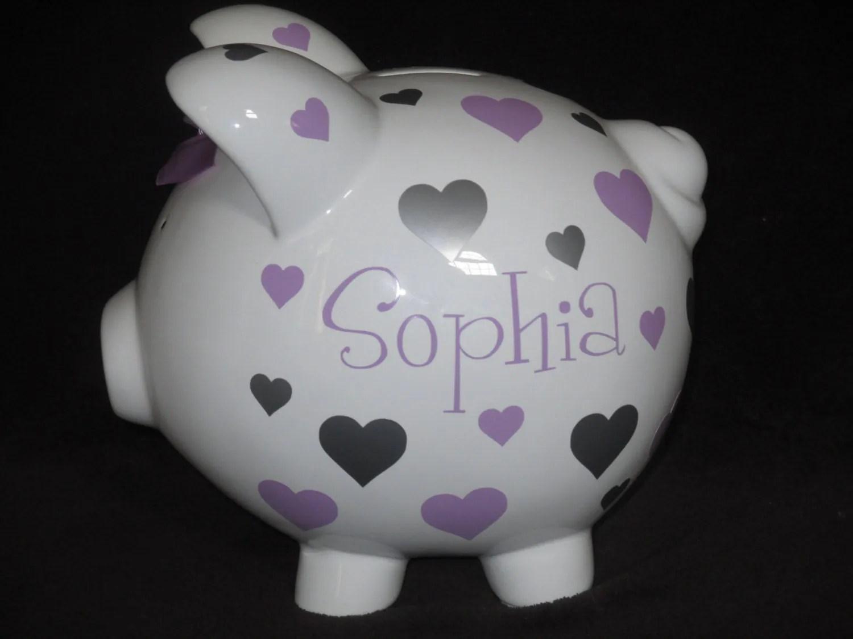 Ceramic Personalized Piggy Banks