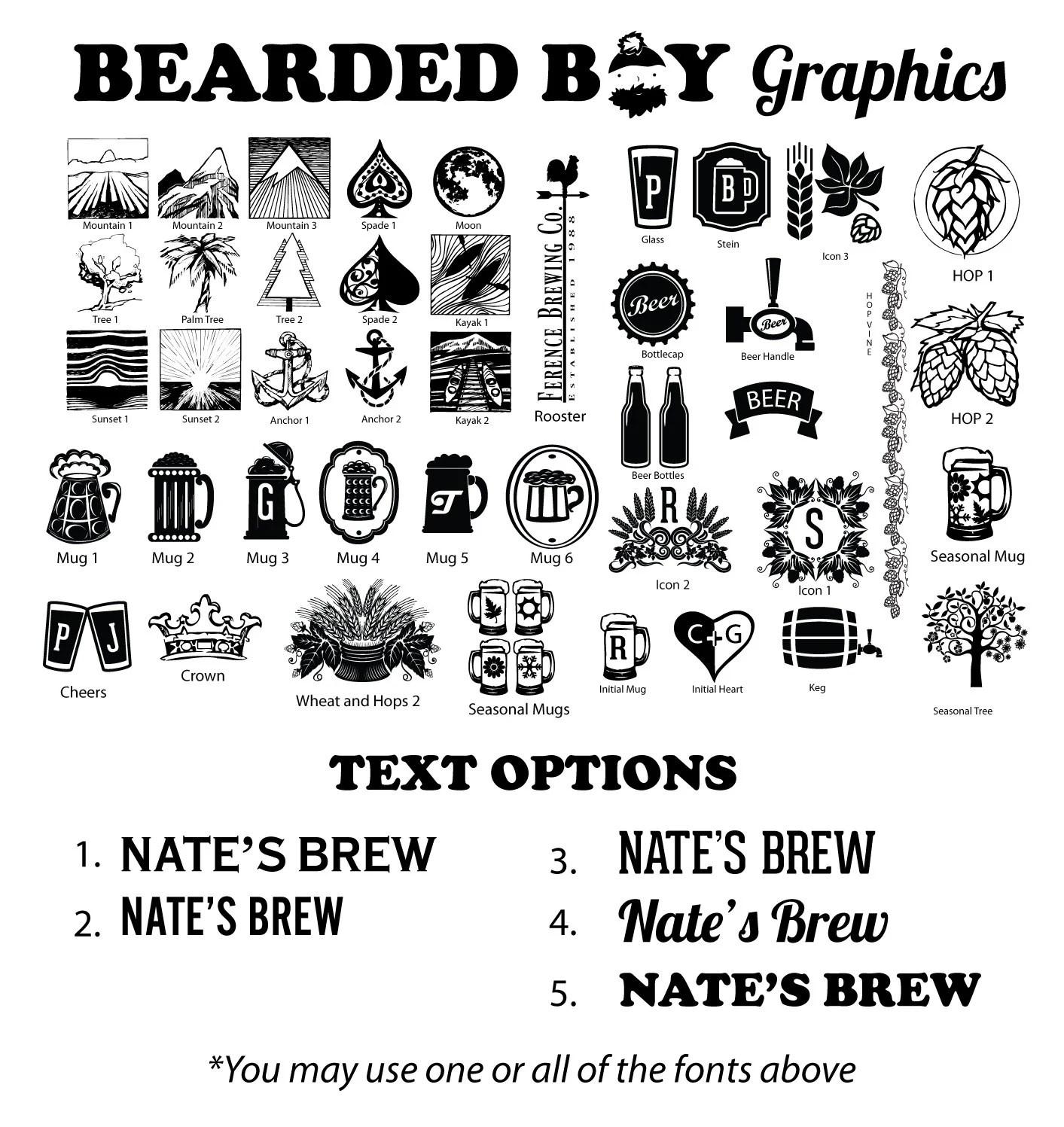 Chalkboard Tap Handle Beer Tap Handle