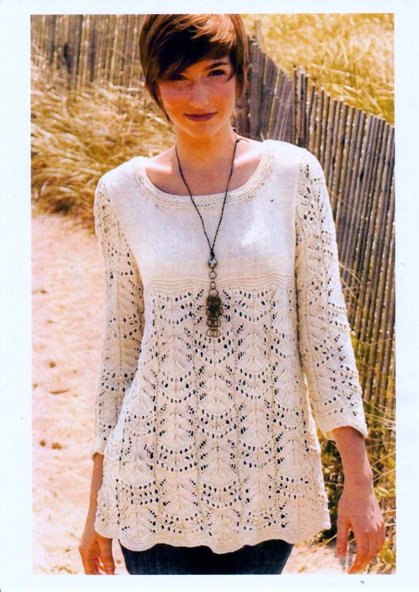 Fair Isle Scarf Knitting Pattern