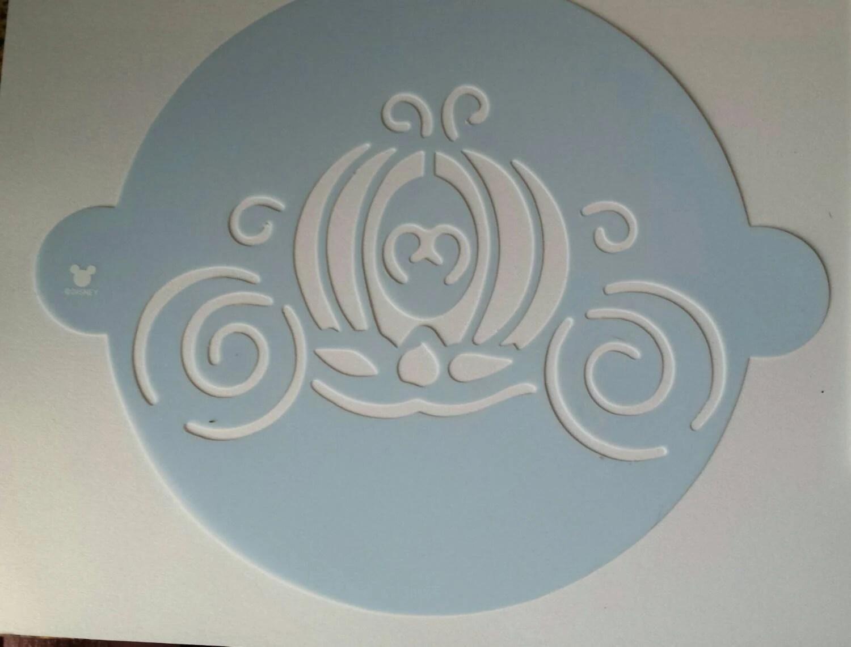 Cinderella Carriage Pumpkin Carving Stencil