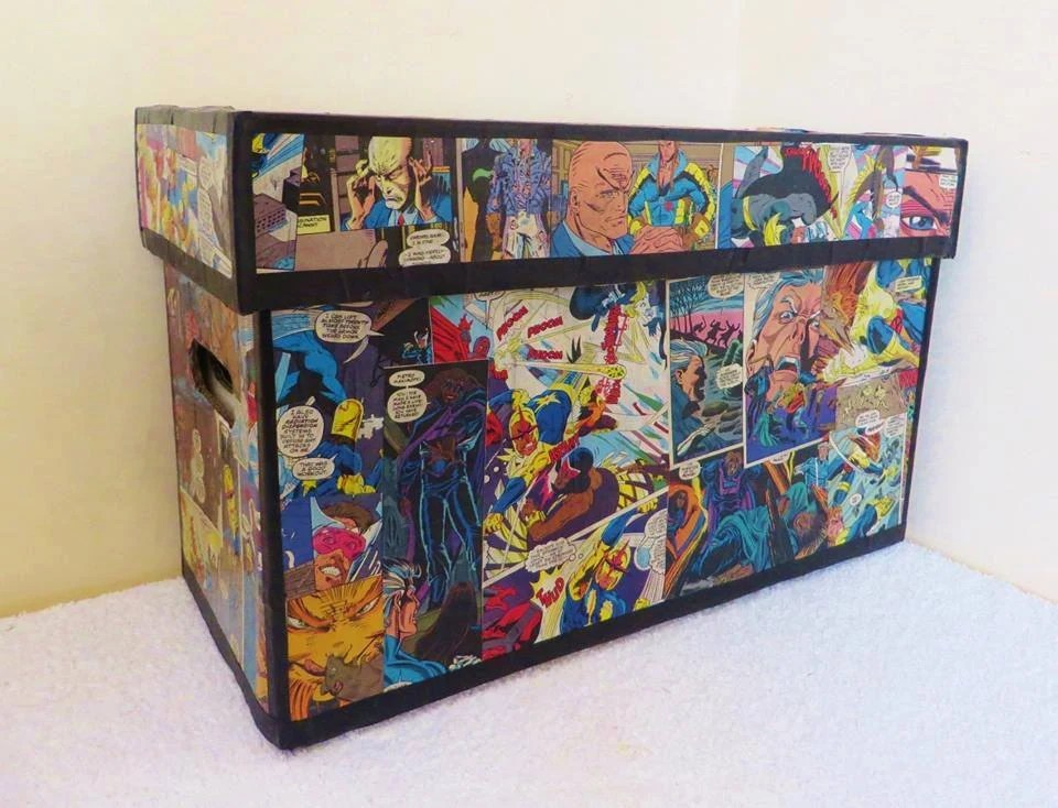 & Comic Book Storage Drawers