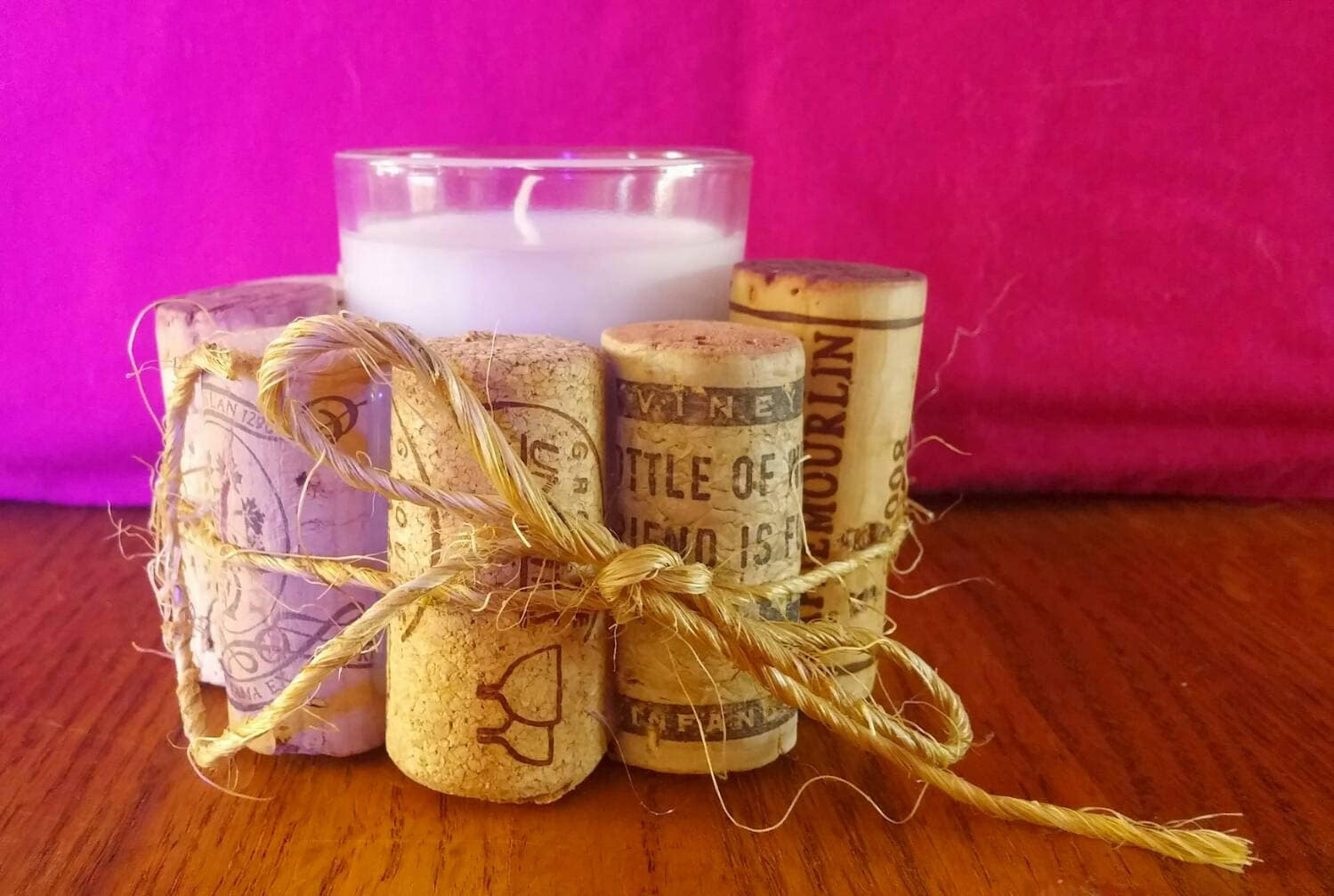 Wine Cork Candle Holder Cork Candle Holder Candle Candle
