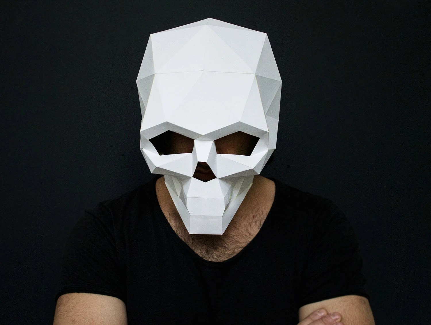 Face Wolf Mask Template