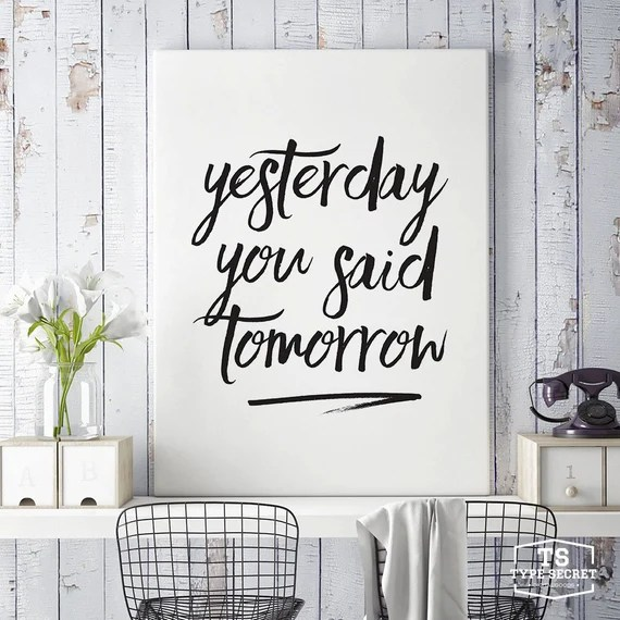 Poster by TypeSecret on Etsy