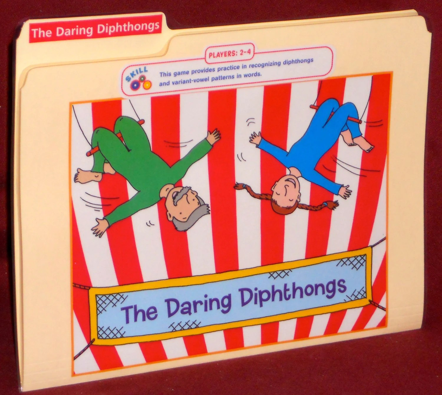 The Daring Diphthongs Vowel Patterns File By