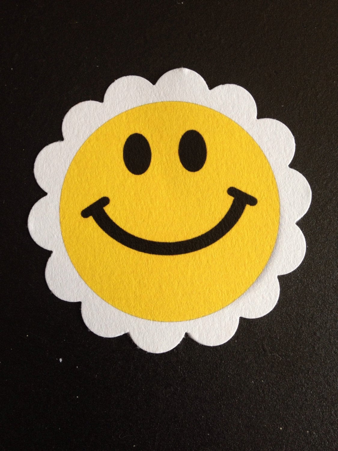 Happy Face Smiley Face Emoji Treat Tags Cupcake Toppers From Blessedtrish On Etsy Studio